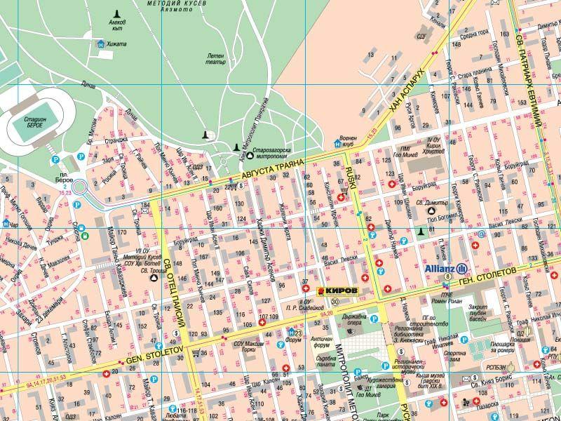 Karta 2019 Karta Stara Zagora