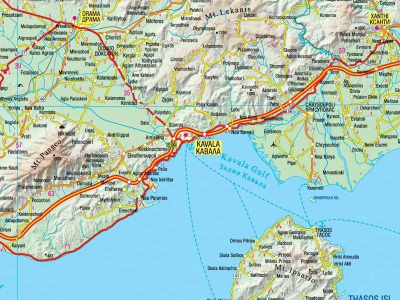 Meridian Ood Ptna Karta Na Grciya