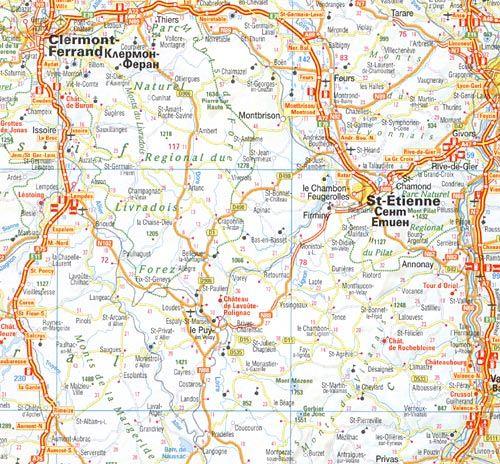 Meridian Ood Ptna Karta Na Franciya