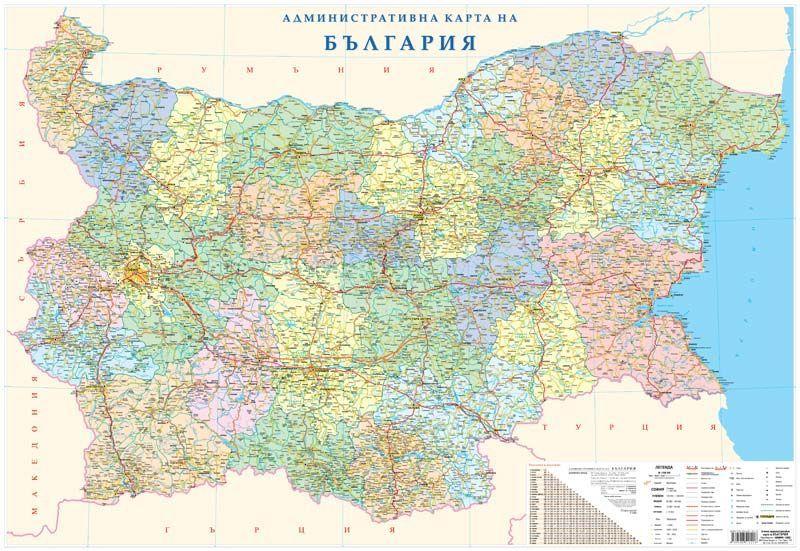Meridian Ood Stenna Karta Blgariya Admin 100 140
