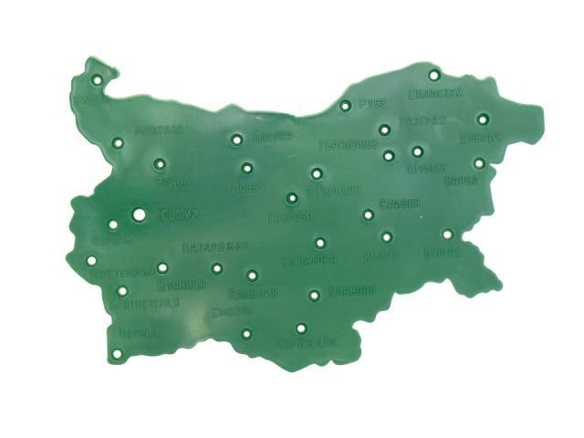 Meridian Ood Shablon Estrela Karta Na Blgariya